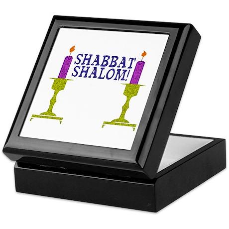 Shabbat Shalom! Keepsake Box