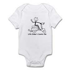 Little Stinkers Scooter Club  Infant Bodysuit