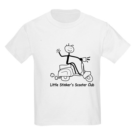 Little Stinkers Scooter Club Kids T-Shirt
