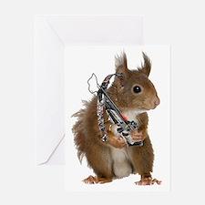 Daryl Squirrel Greeting Card