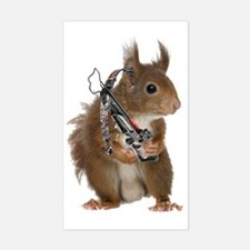 Daryl Squirrel Decal