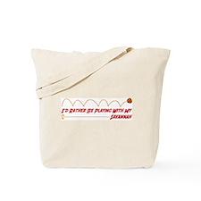 Playing Savannah Tote Bag