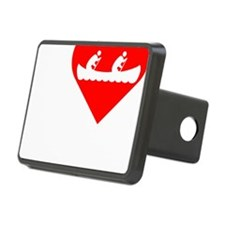 I-Heart-canoeing-Darks Hitch Cover