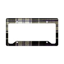 Tartan #43 License Plate Holder