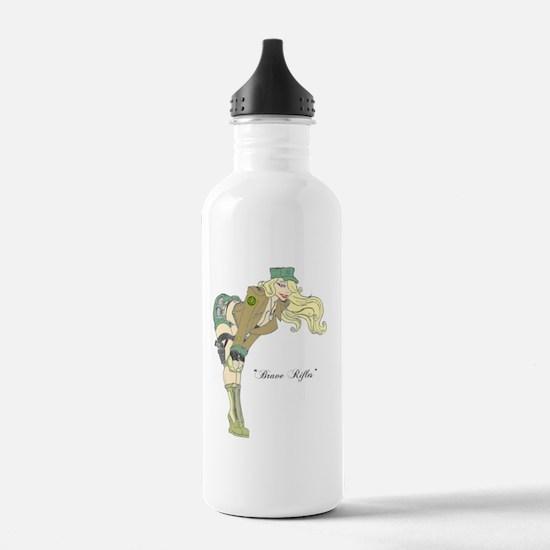 Brave Rifles Water Bottle