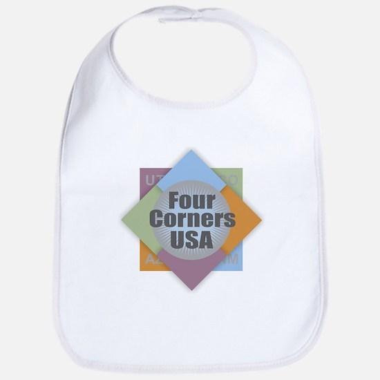 Four Corners Baby Bib