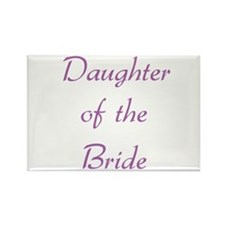 Daughter of the Bride Rectangle Magnet (10 pack)
