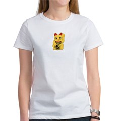 Gold Meneki Neko Women's T-Shirt