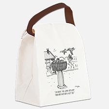2118_bird_cartoon Canvas Lunch Bag