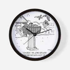 2118_bird_cartoon Wall Clock