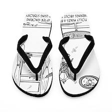 4803_bird_cartoon Flip Flops