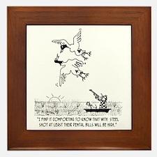 4198_hunting_cartoon_KK Framed Tile