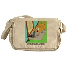 8547_cat_cartoon Messenger Bag