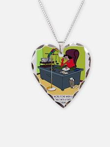 8414_parrot_cartoon Necklace