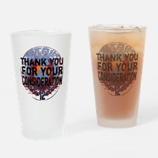 white district 12 thank you for you Drinking Glass