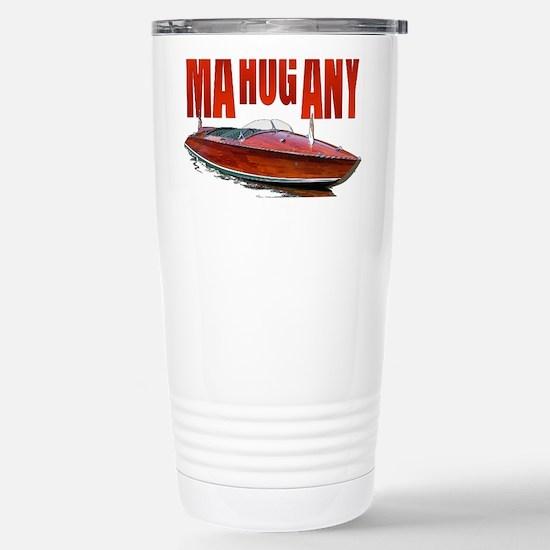 Mahogany-10 Stainless Steel Travel Mug