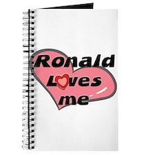 ronald loves me Journal