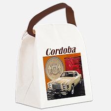 1978 Chrysler Cordoba Design Canvas Lunch Bag