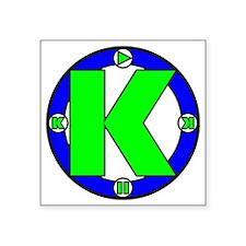 "SuperK Square Sticker 3"" x 3"""