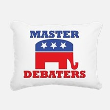 Master-Debaters-Republic Rectangular Canvas Pillow