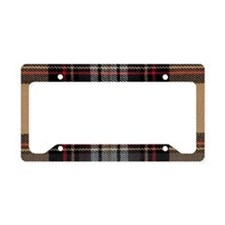 Tartan #67 License Plate Holder
