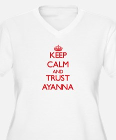 Keep Calm and TRUST Ayanna Plus Size T-Shirt
