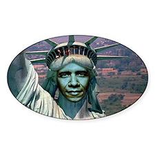 Obama Liberty Decal