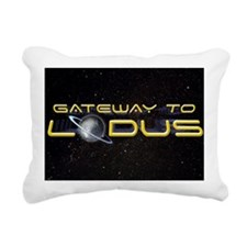 GTL_Logo_For_Patch Rectangular Canvas Pillow