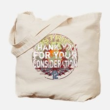 black multi district 12 thank you for you Tote Bag