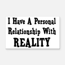 Personal Relationship Rectangle Car Magnet