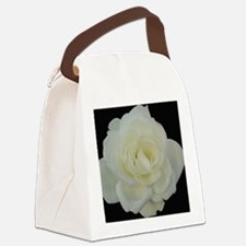 Midnight Rose Canvas Lunch Bag