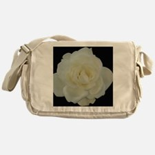 Midnight Rose Messenger Bag