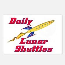 DAILY-LUNAR-SHUTTLES Postcards (Package of 8)