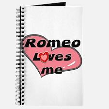 romeo loves me Journal