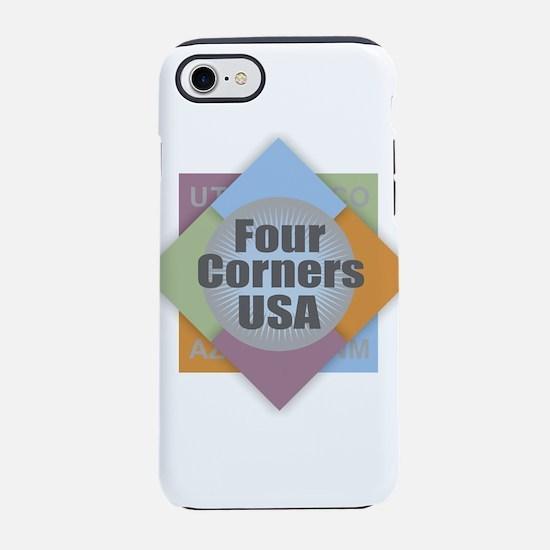 Four Corners iPhone 7 Tough Case
