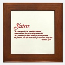 Sisterhood #1 Framed Tile