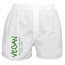 Vegancompassiontastesbetter Boxer Shorts