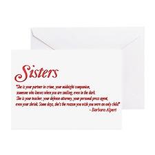 Sisterhood #1 Greeting Cards (Pk of 10)