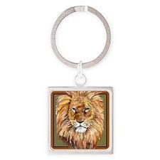 liontile Square Keychain