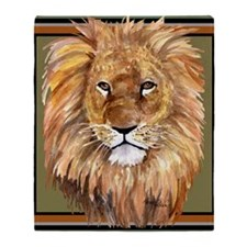 liontile Throw Blanket