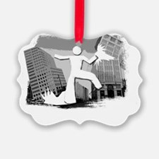 Im Huge In Indiana Ornament