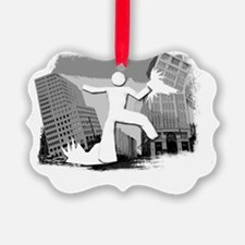 Im Huge In New Jersey Ornament