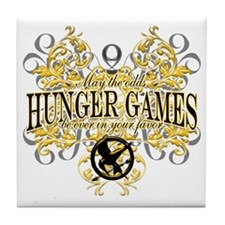 Hunger Games Tribal copy Tile Coaster