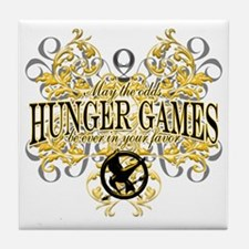 Hunger Games Tribal copy Tile Coaster