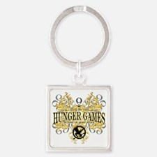 Hunger Games Tribal copy Square Keychain