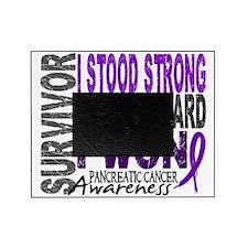 D Survivor 4 Pancreatic Cancer Picture Frame