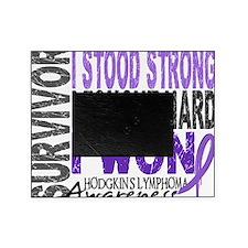 D Survivor 4 Lymphoma Hod Picture Frame