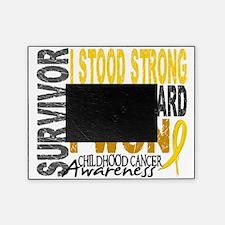 D Survivor 4 Childhood Cancer Picture Frame