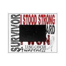 D Survivor 4 Lung Cancer Picture Frame