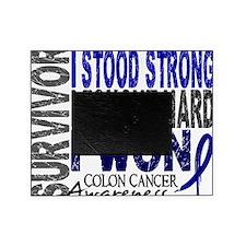 D Survivor 4 Colon Cancer Picture Frame